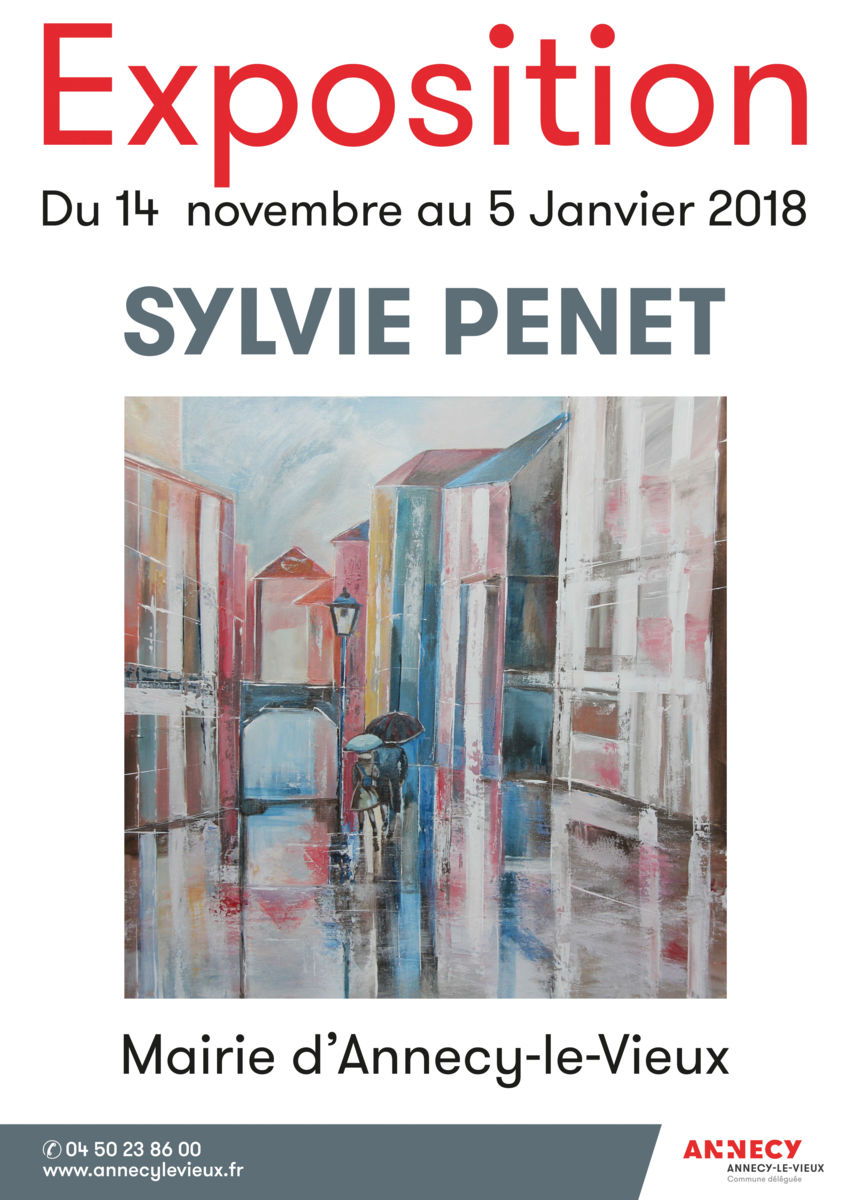 Exposition - Mairie d'Annecy le Vieux - du 14 novembre 2017 au 5 janvier 2018