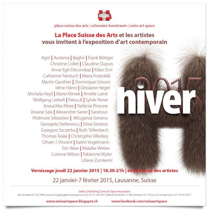 Exposition contemporain suisse Lausanne