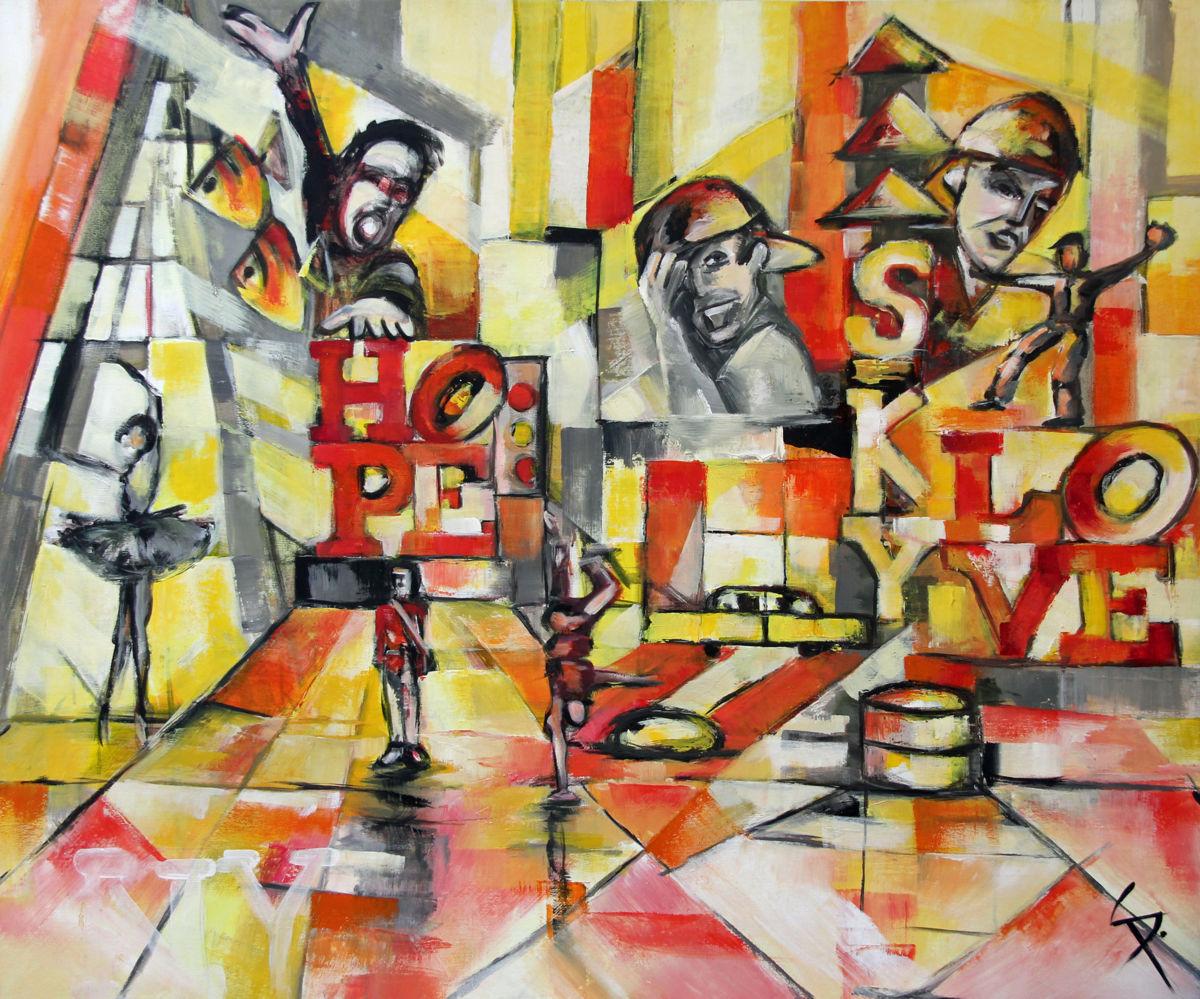 Peinture, contemporain, Paris