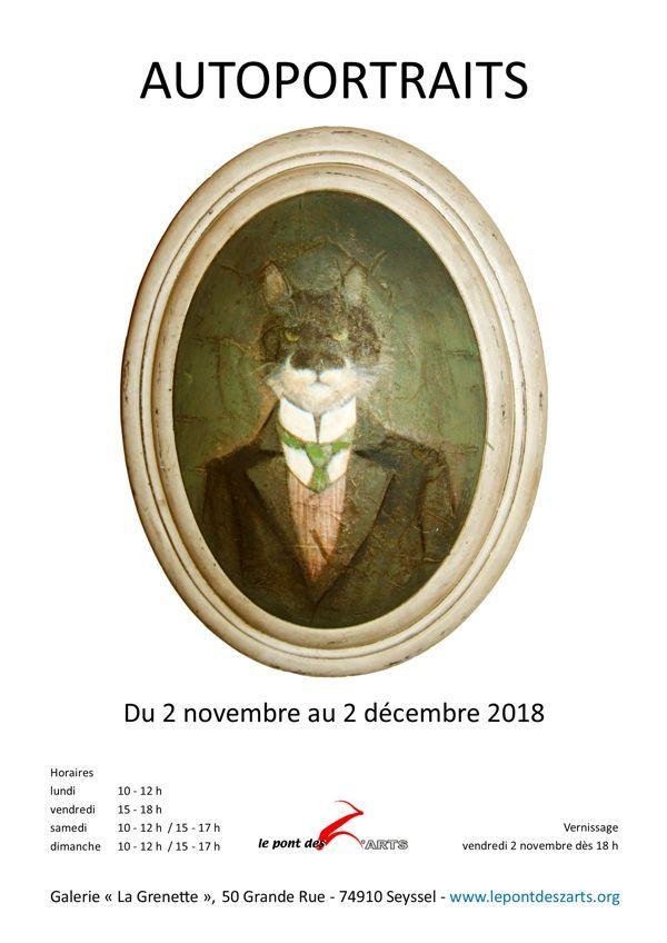 Peinture, Haute-savoie, Ain, Autoportrait, Sculpture